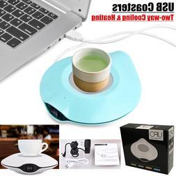 UFO USB coasters Two-way Cooling & Heating USB Warmer & Cool