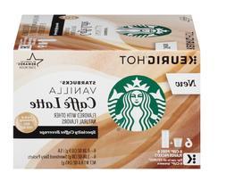 🔥Starbucks Vanilla Caffe Latte K Cups Keurig K-Cups🔥