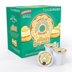 The Original Donut Shop Vanilla Cream Puff Coffee Keurig K-C