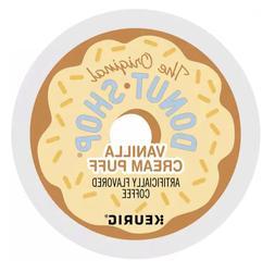 The Original Donut Shop Vanilla Cream Puff Keurig Kcups 72 C