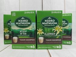 Green mountain Vanilla Espresso Roast Keurig Coffee k-cups f