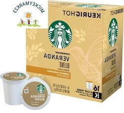 Starbucks Veranda Blend Blonde Light Roast Coffee K-cups 160