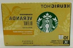 Starbucks Veranda Blend Blonde Roast Coffee 10 Count Keurig