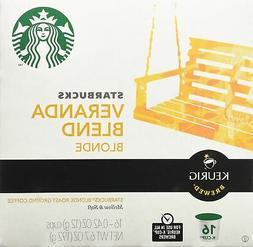Starbucks Veranda Blend Blonde, K-Cup for Keurig Brewers, 16