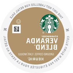 Starbucks Veranda Blend Coffee 24 to 96 Keurig K cups Pick A