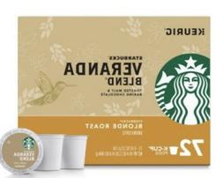 Starbucks Veranda Blend Keurig K-Cups 72 Count - FREE SHIPPI