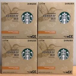 Starbucks Veranda Blonde Roast K Cups 128 Count New Fresh .5