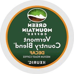 Green Mountain Vermont DECAF Blend Coffee 24 to 144 Keurig K