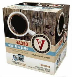 Victor Allen's Coffee K Cups, Decaf Donut Shop Single Serve