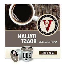 Victor Allen's Coffee K Cups, Italian Roast Medium Roast Cof