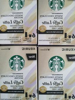 Starbucks White Chocolate Mocha Caffe Latte Keurig K-Cups