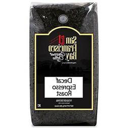 San Francisco Bay Coffee Whole Bean, Decaf Espresso Roast, 3
